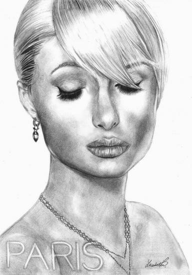 Paris Hilton by Veronica